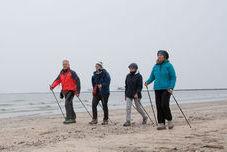 Nordic walking - Kutxa Ikasgelak